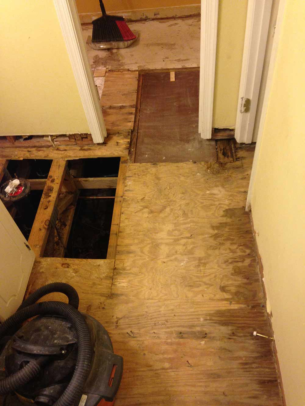 Sewage Backup in Raleigh, NC 1