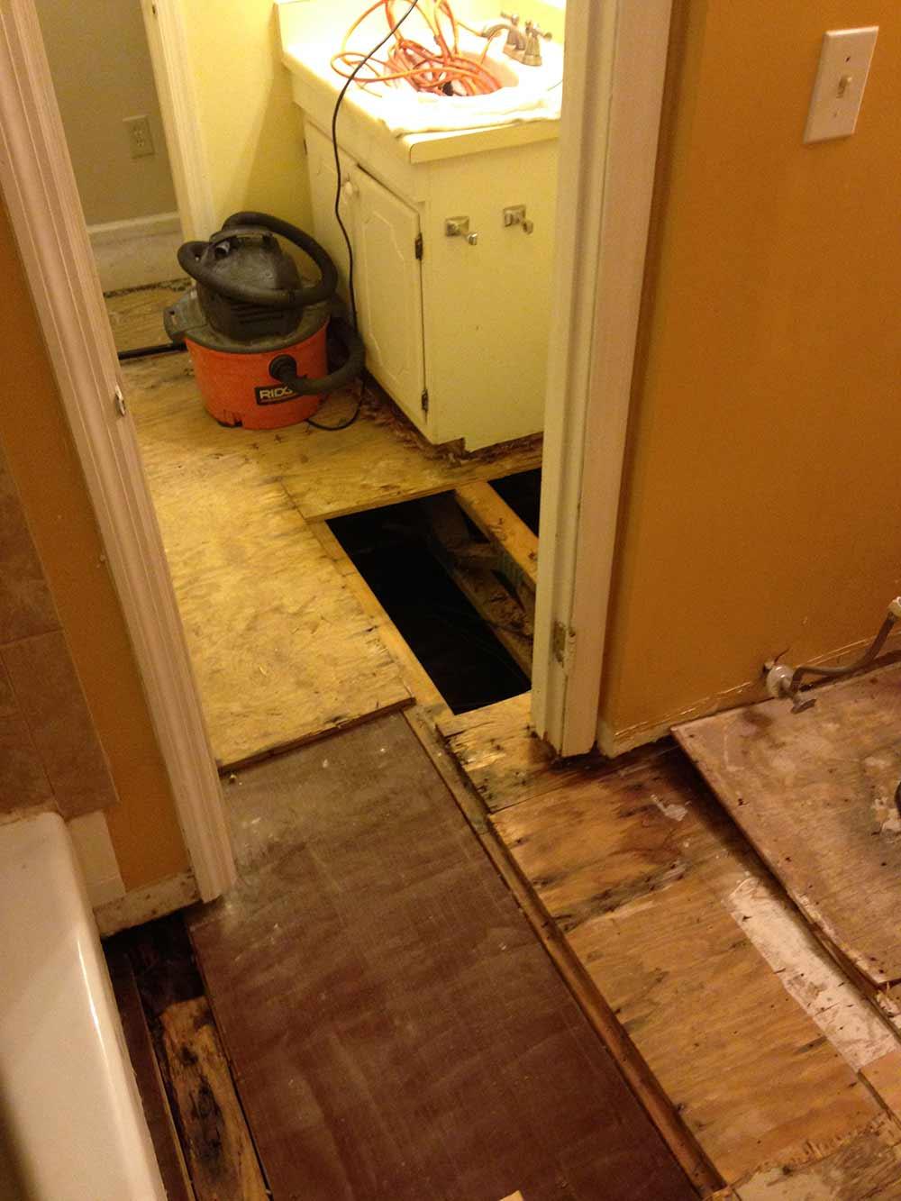 Sewage Backup in Raleigh, NC 2