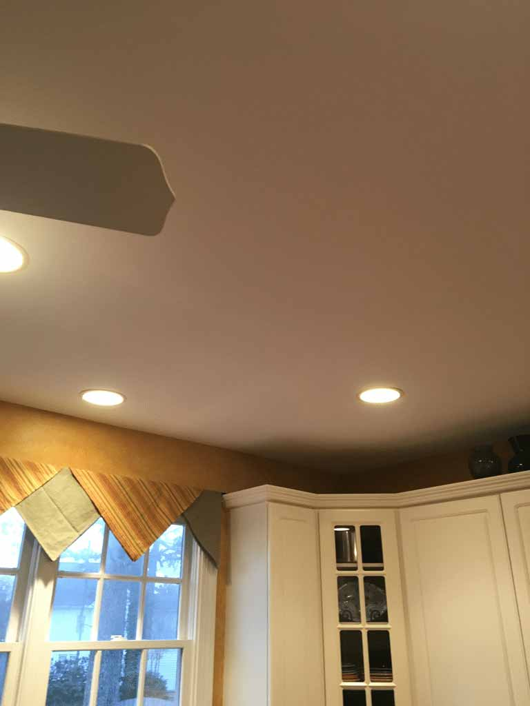 Water Damaged Ceiling in Cary, NC 2