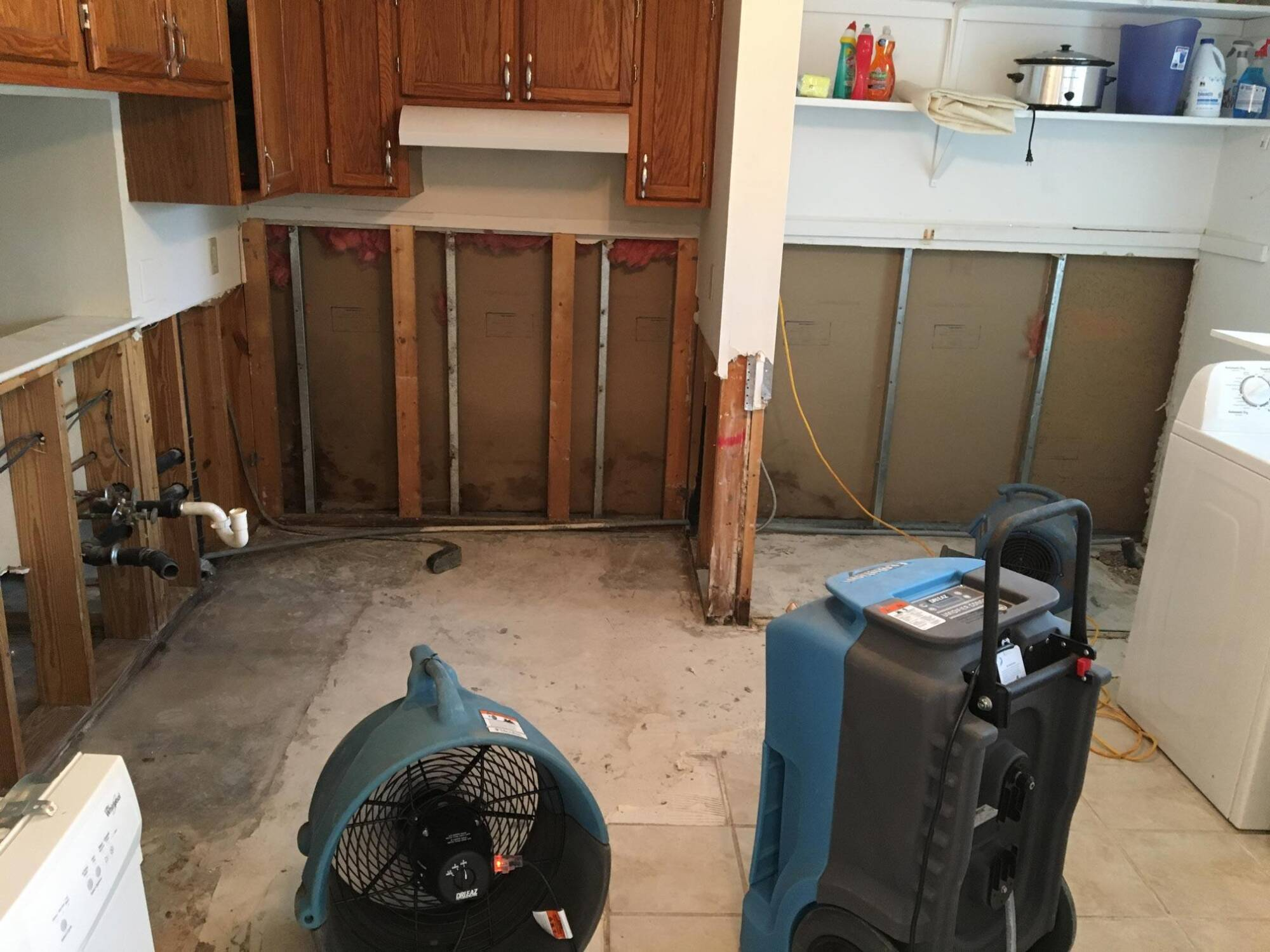 Condensate Drain Backup in Raleigh, NC 1