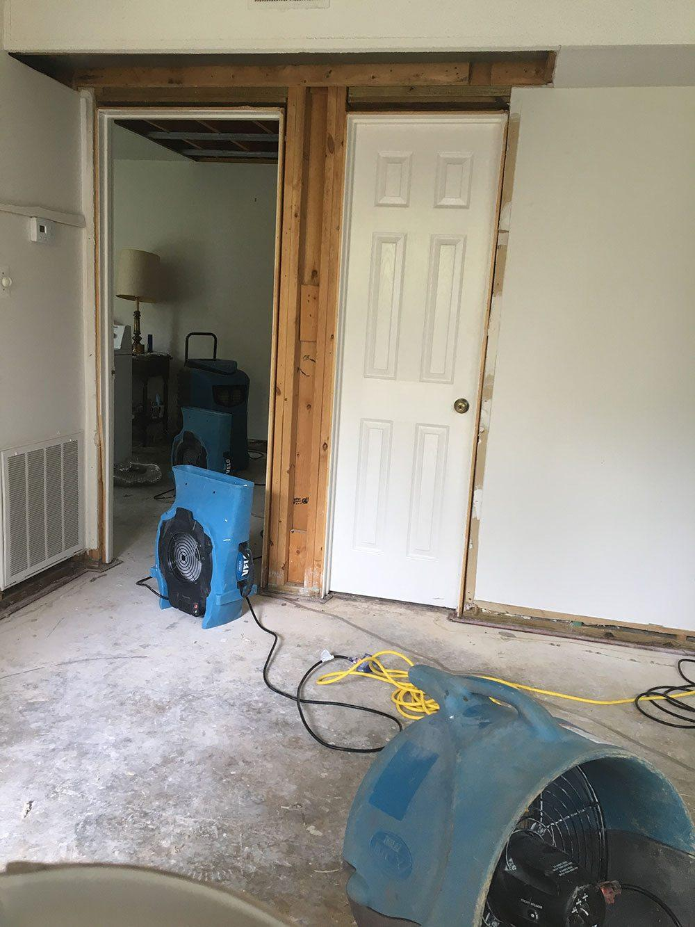 Washing Machine Condo Flood in Cary, NC 1