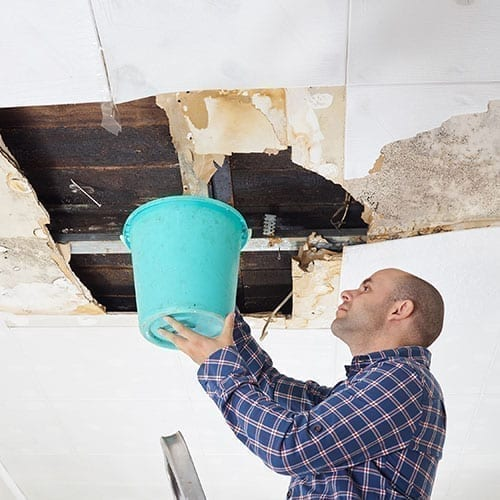 Knightdale NC Crawlspace Water Damage Repair & Ceiling Leak Restoration
