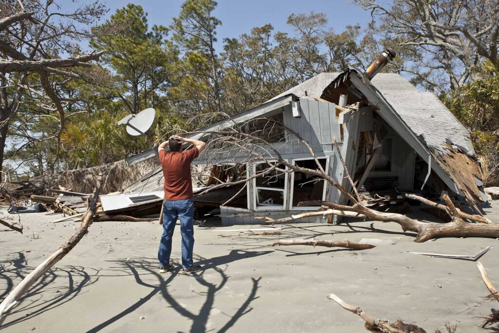 Storm Damage restoration company in Apex NC