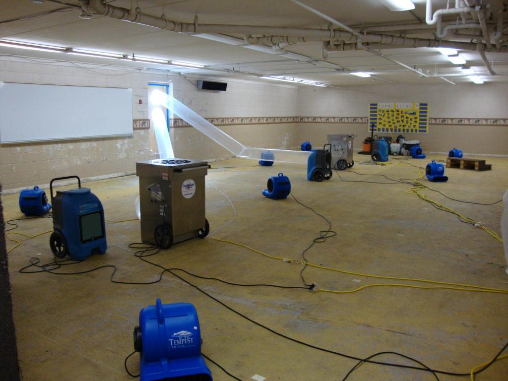 Basement Water Damage Cleanup & Basement Water Damage Repair in Holly Springs, NC