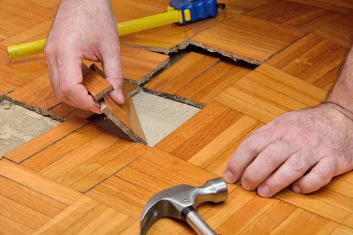 Water Damage Restoration of Hardwood Floors in Garner NC Hardwood Floor Water Damage Restoration