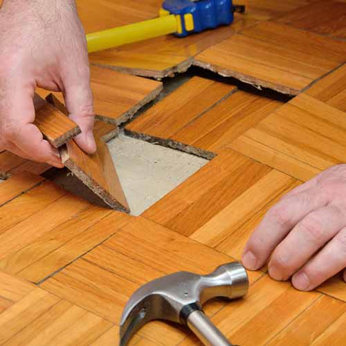 Hardwood Floor Water Damage Repair Raleigh NC
