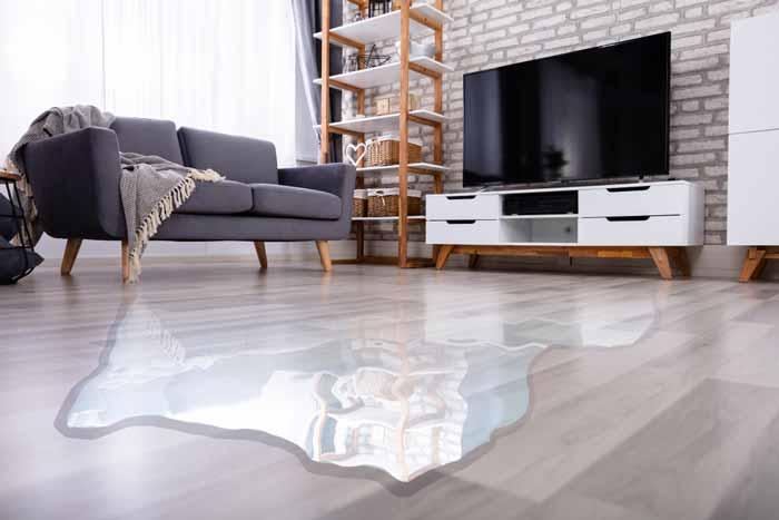 water damage restoration of hardwood floors in Garner NC water damaged hardwood floors